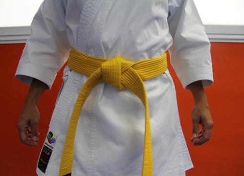Cinturon amarillo