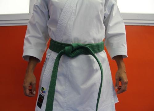 Cinturon verde